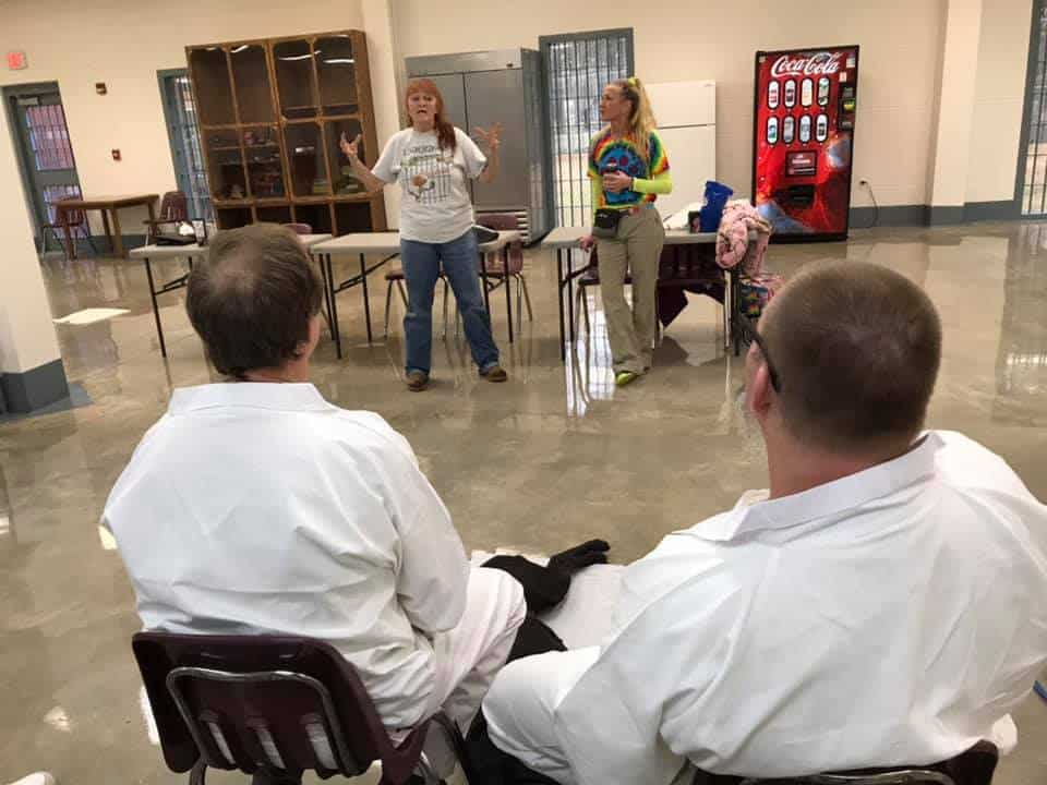 training men inmates
